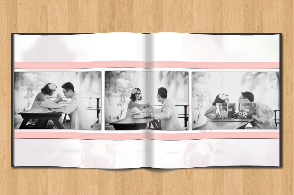 illustration design ideas from the desk of geneve ong on wedding photo album layout ideas